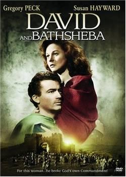 """""""David and Bathsheeba,"""" 1951, starring Gregory Peck and Susan Hayward"""