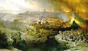 "David Roberts, ""The Siege and Destruction of Jerusalem"", 1850"