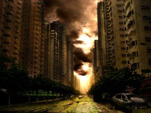 """Apocalypse"" by DearJune, contemporary"