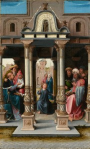 """Christ Among the Doctors,"" Bernard van Orley, 1513"