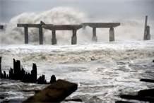 Hurricane Sandy pounds Atlantic City, NJ