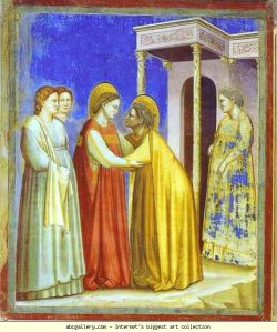"""The Visitation,"" Giotto, 1302-1305"