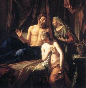 """Adriaen van der Werff, """"Sarah Presenting Hagar to Abraham"""""""