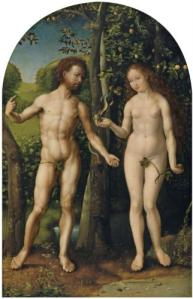 "Jan Mabuse, ""Adam and Eve,"" 1510"