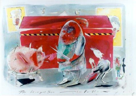 "Ian Pollock, ""The Prodigal Son,"" Conteporary"