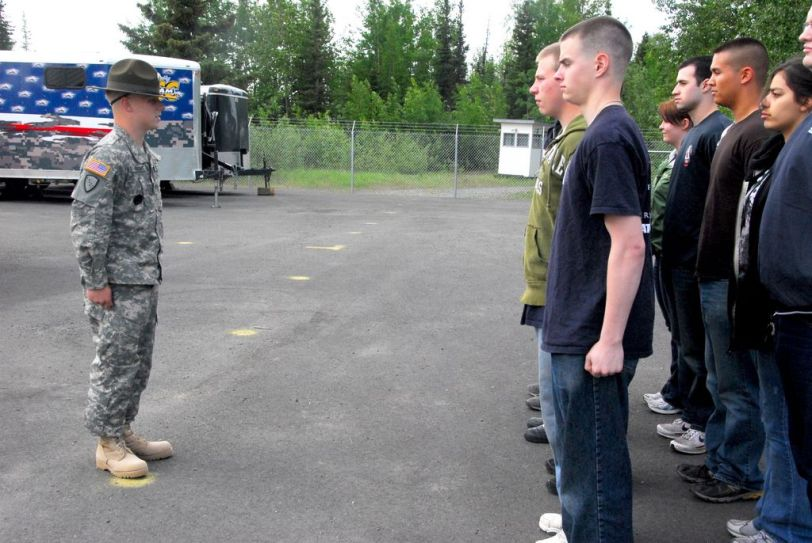 New recruits, Alaska Army National Guard