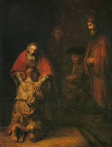 "Rembrandt, ""The Return of the Prodigal Son,"" 1636"
