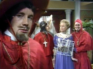 """Nobody expects the Spanish Inquisition!"" - Month Python's Flying Circus"