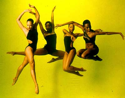 "Alvin Ailey dancers, ""Yellow"""