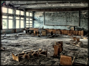 Abandoned building, Chernobyl