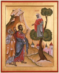 Zaccaeus, Icon