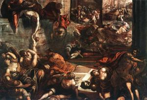 "Tintoretto, ""The Slaughter of the Innocents,"" 1587"