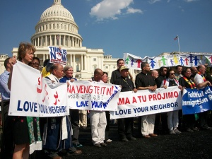 Demonstration at Congress against Deportation by CASA de Maryland