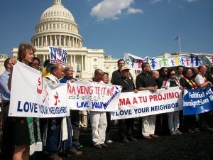 Demonstration at Congress against Deportation by CASA de Maryland
